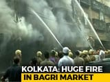 Video : Massive Fire Breaks Out At Kolkata Market, 30 Fire Engines At Spot