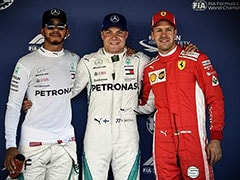 Russian Grand Prix: Valtteri Bottas Upstages Lewis Hamilton To Take Pole Position