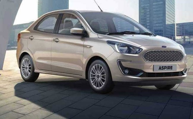 Ford India's cumulative sales went up to 19,988 vehicles, registering a growth of over 17 per cent