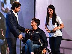 पैरा-एथलीटों से मिले शाहरुख खान, बोले इनसे सीखा अधूरेपन को साहस के साथ जीना...