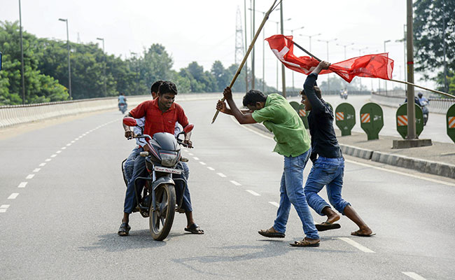 Bharat Bandh Protests Train Blockades Disrupt Normal Life In Odisha