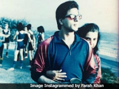 Ever Seen SRK Wearing Pink Leotards? Farah Khan Shares Throwback Pic