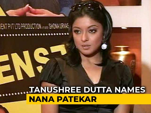 Video : Tanushree Dutta Names Nana Patekar As Alleged Harasser 10 Years Ago