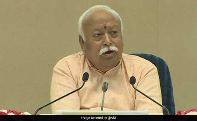 Mohan Bhagwat's Top Quotes As RSS Outreach Programme Concludes