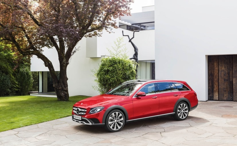 The Mercedes-Benz E-Class All-Terrain comes with bold crossover-like styling and 4MATIC system