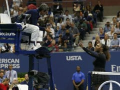 Watch: Serena Williams Lashes Out At Chair Umpire, Calls Him 'Thief' During US Open Final