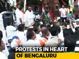 Video: Karnataka Bandh: Cabs, Bus Services Hit, Bengaluru Schools Closed