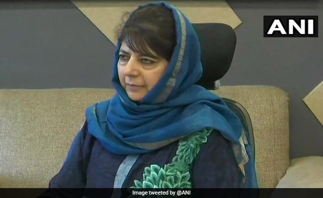 'Muscular Approach': Mehbooba Mufti After Ban On Jamaat-e-Islami J&K