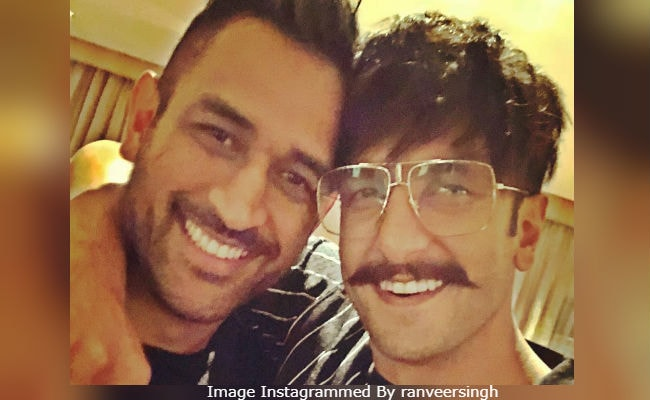 Crazy Viral: Ranveer Singh's Pic With The 'Greatest' MS Dhoni. Seen Yet?