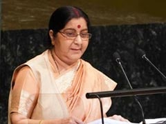 Sushma Swaraj Speaks To French Counterpart After Masood Azhar's Asset Freeze