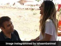 Bollywood Gathers At Italy's Lake Como For Isha-Anand Engagement