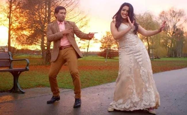 आम्रपाली दुबे और निरहुआ ने लंदन की कड़ाके की ठंड में इस गाने को किया था शूट, सॉन्ग का Video हुआ वायरल