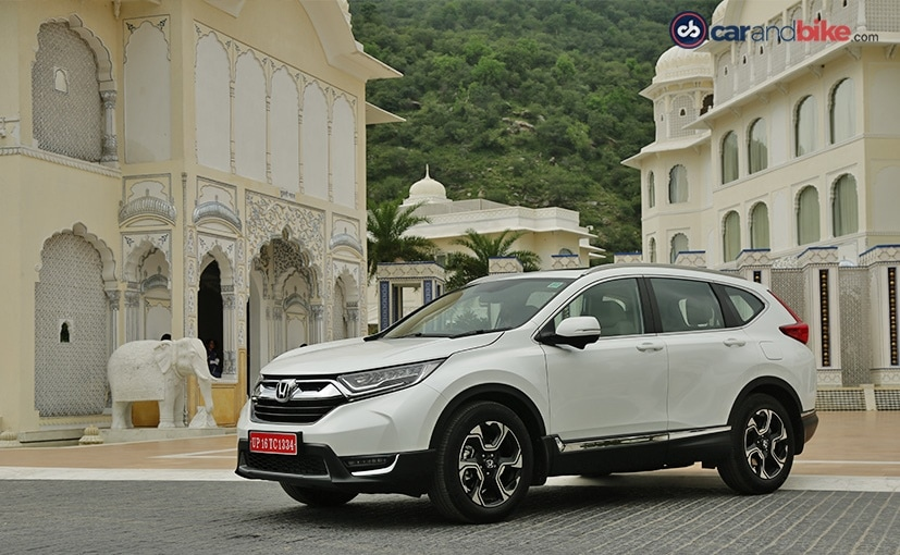 2018 Honda CR-V Review - NDTV CarAndBike