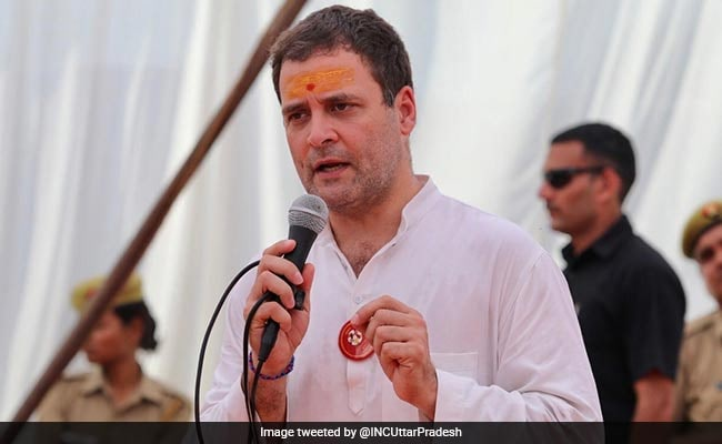 BJP Stages Protest Against Rahul Gandhi In Amethi Over Remarks On PM Modi
