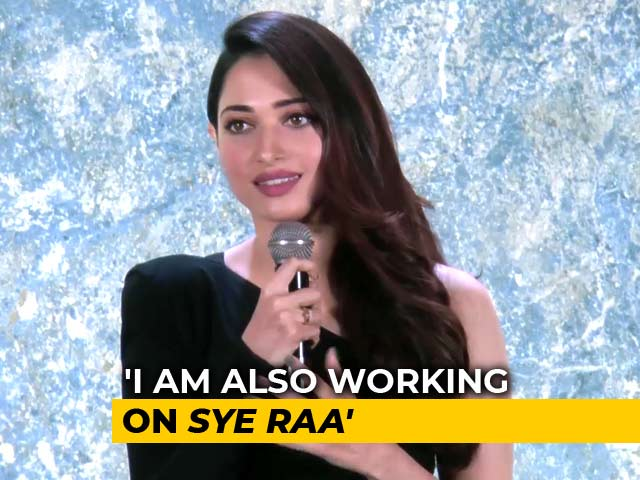 Tamannaah On Her Next Film With Chiranjeevi
