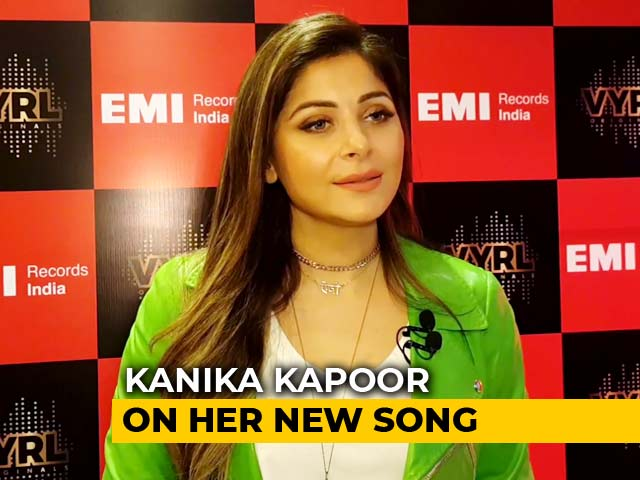 Video : Kanika Kapoor On Her New Song <i>Cheater Mohan</i>