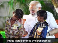 PM Modi Continues 'Kaan Ki Baat' With His 'Young Friends.' See Pic