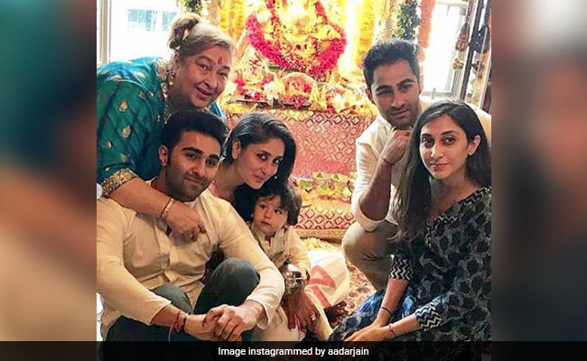 Taimur's Pic From Ganpati Celebrations Is The Cutest Thing On The Internet Today