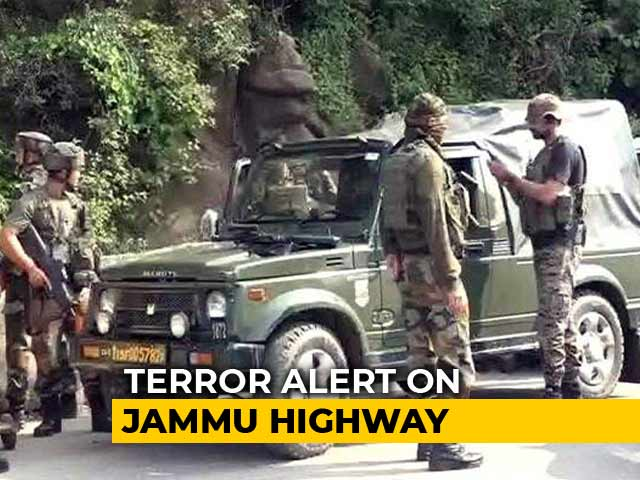 Video : Suspected Terrorists Open Fire Near Police Post On Jammu-Srinagar Highway