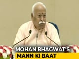 "Video : ""Crime To Take Law In One's Own Hands"": Mohan Bhagwat On Cow Vigilantism"