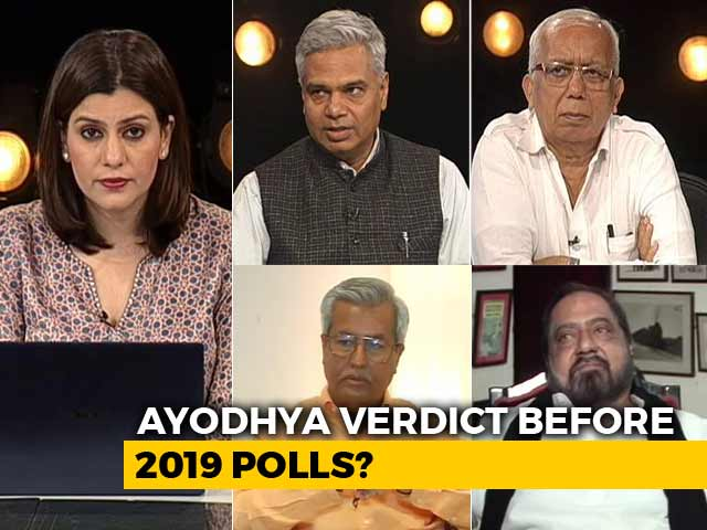 Video : Top Court To Hear Ayodhya Case From October 29: Is It Advantage BJP?