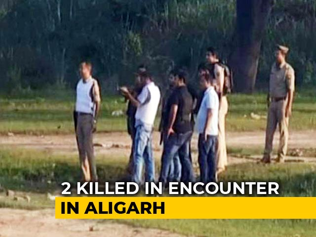 Video : 2 Shot Dead In UP Encounter On Camera, Cops Invited Journalists To Watch