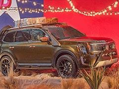 2020 Kia Telluride SUV Revealed At New York Fashion Week