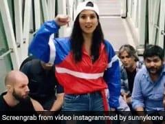 सनी लियोन ने एयरपोर्ट पर 'बोलो तारा रारा...' गाने पर किया भांगड़ा, Video कर देगा हैरान
