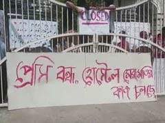 """Anarchy"" At Kolkata's Famous Presidency University Over Hostel Protest"