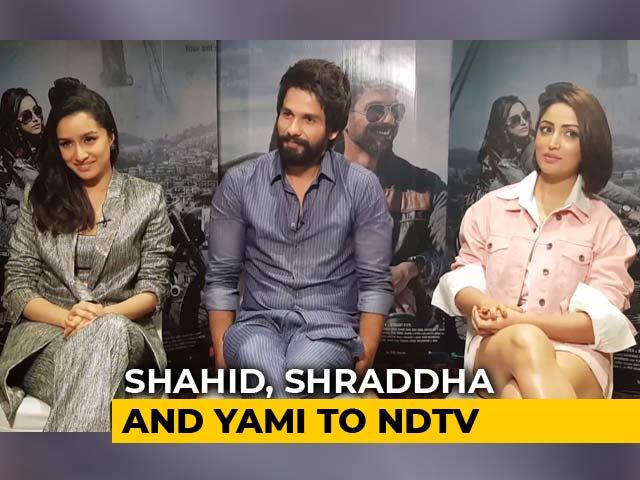 Video : Shahid, Shraddha & Yami On <i>Batti Gul Meter Chalu</i>