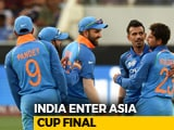Video : Asia Cup: Centurions Rohit Sharma, Shikhar Dhawan Help India Thrash Pak By 9 Wickets