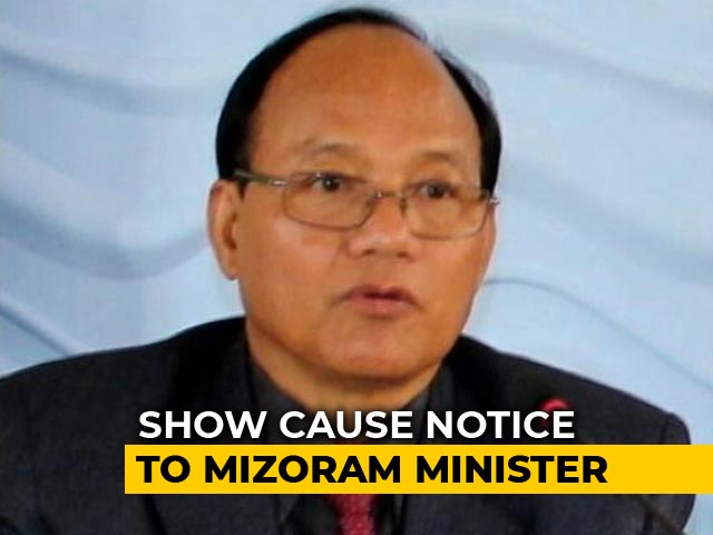 Video : Mizoram Home Minister R Lalzirliana Resigns; Setback For Congress