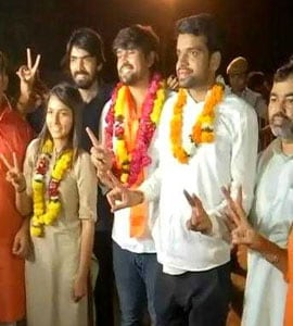 DUSU Election Result 2018: ABVP Wins President, Vice-President