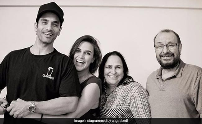 Neha Dhupia's Husband Angad Bedi Shares Adorable Pics From Family Photo Archives On Mother-In-Law's Birthday