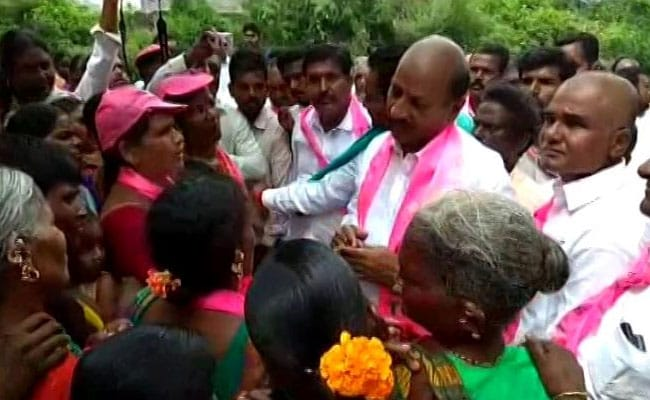 Case Filed Against Telangana TRS Lawmaker Who Was Caught Offering Bribes
