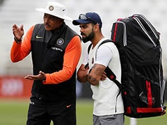 "Ravi Shastri Reacts To Criticism, Says ""Last One To Press Panic Button"""