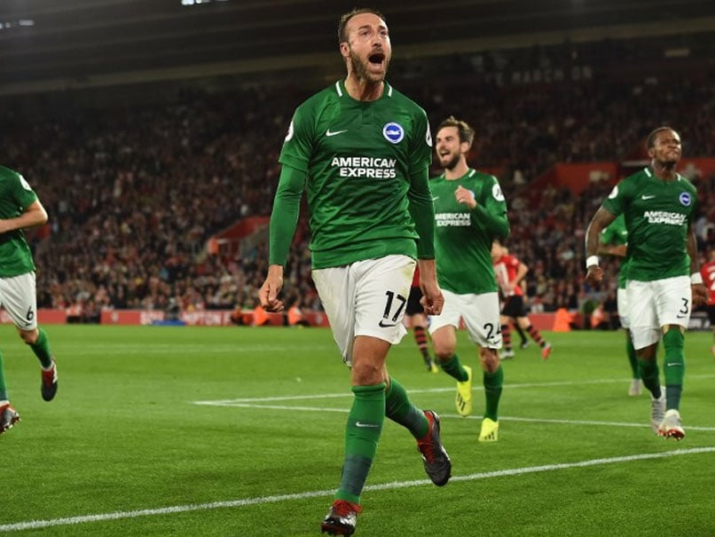Late Glenn Murray Penalty Earns Brighton 2-2 Draw At Southampton In Premier League