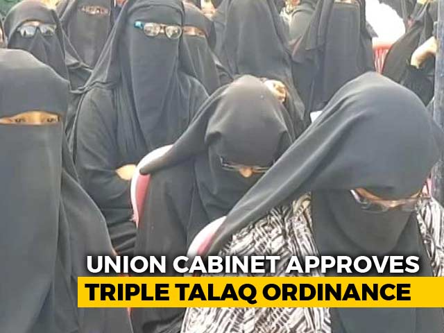 Video : Triple <i>Talaq</i> To Be An Offence, Cabinet Clears Executive Order