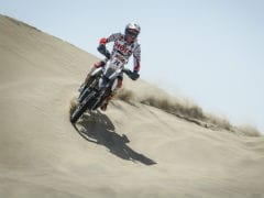 Hero MotoSports' CS Santosh Finishes Peru Desafio Inca Rally In 14th Place