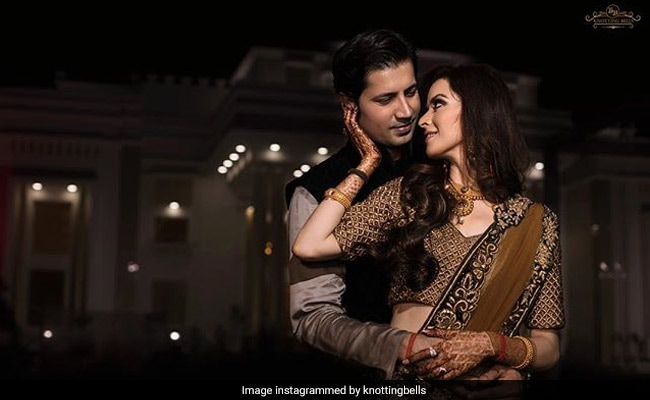 Inside Sumeet Vyas and Ekta Kaul's Mehendi, Haldi Ceremonies