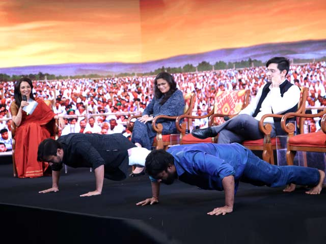 Video : NDTV Youth Conclave's Fitness Challenge