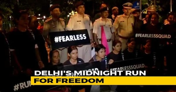 "Image result for Over 200 Women In Delhi Reclaim The Streets In A Midnight ""Fearless Run"""