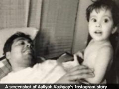 On Anurag Kashyap's Birthday, Daughter Aaliyah Shares Adorable Throwback Pics