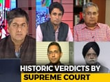 Video : Week Of Historic Verdicts By Supreme Court: Impact 2019?