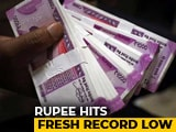 Video : Rupee Collapses To Lifetime Low Of 72.91 Against US Dollar