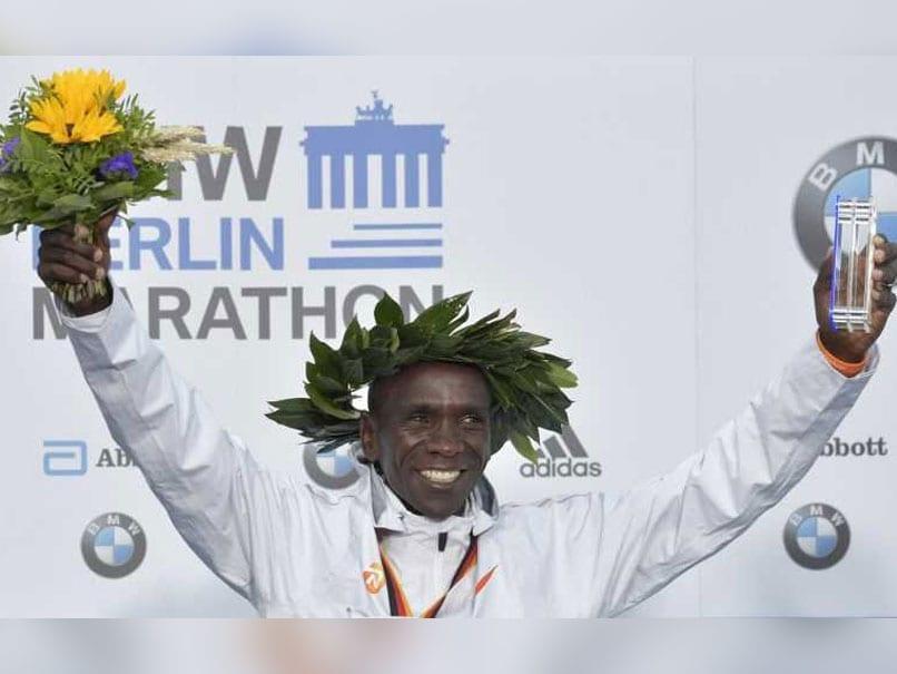 Kenyan Marathon Master Eliud Kipchoge Smashes World Record