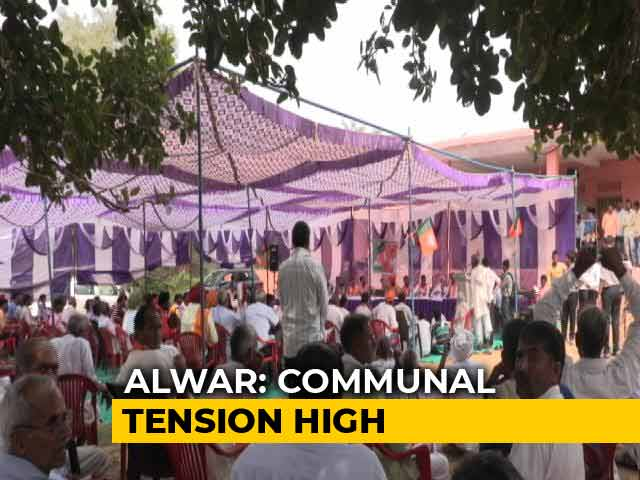 Video : Ahead Of Elections, Campaign Of Communal Rhetoric In Rajasthan's Alwar