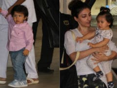 Taimur And Baby Inaaya's Playdate Can't Get Any Cuter. Adorable Pics Here