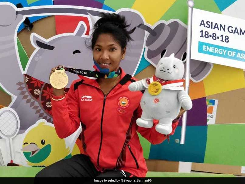 Watch: Asian Games Gold Medallist Swapna Barman Shows Her