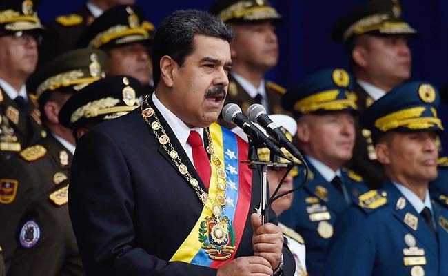 Venezuela's Maduro accuses Trump administration of ordering Colombia to kill him